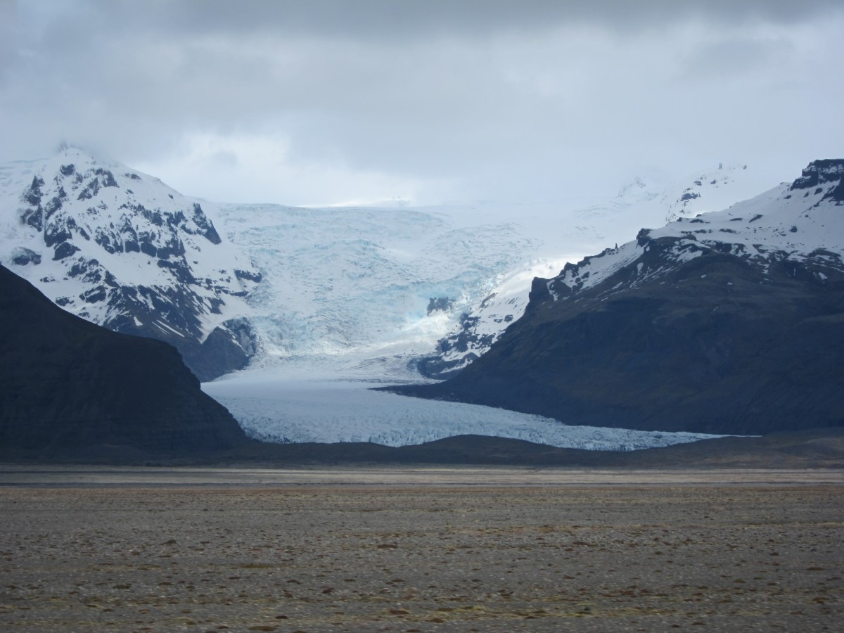 Glacier, part of Skaftafell national park(?)