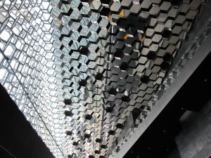 Harpa - ceiling
