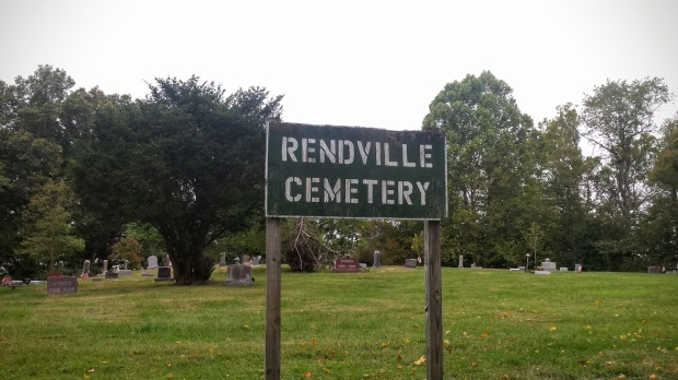 The local cemetery