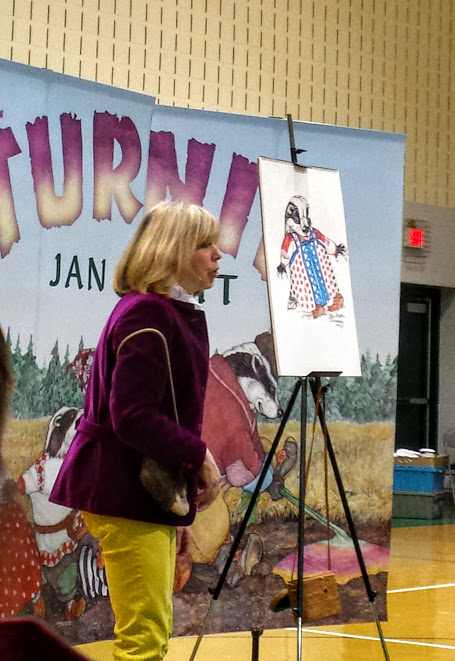 Jan Brett talks about her art process